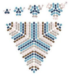 and Dustin Wedekind ring, illustrations by Dustin Wedekind Image Detail for - Peyote Power Triangle stitch and bead overlay drawn by Dustin Wedekind .Image Detail for - Peyote Power Triangle stitch and bead overlay drawn by Dustin Wedekind . Seed Bead Jewelry, Bead Jewellery, Seed Beads, Bead Earrings, Triangle Pattern, Beading Techniques, Beading Tutorials, Beaded Jewelry Patterns, Bead Jewelry