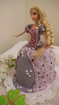 Pastel de Rapunzel.Rapunzel cake. Natali's cooking