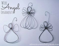 Wire Angel Ornament Tutorial