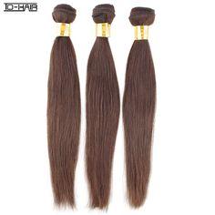 $103.00 (Buy here: https://alitems.com/g/1e8d114494ebda23ff8b16525dc3e8/?i=5&ulp=https%3A%2F%2Fwww.aliexpress.com%2Fitem%2F100-Human-Hair-Bundles-Remy-Brazilian-Virgin-Hair-Extension-Straight-3pcs-lot-Color-4-Can-be%2F1693149115.html ) 9A Brazilian Virgin Hair Straight Remy Hair bundles Brazilian hair Straight weft extension Color 2# 4# Wholesale TD HAIR weaving for just $103.00