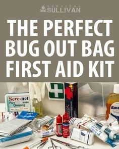 How to assemble a lightweight yet critical first aid kit that will fit in your bug out bag. Full list of items to get one by one and save. #firstaid #firstaidkit #survival First Aid Kit Checklist, Diy First Aid Kit, Survival First Aid Kit, First Aid For Kids, Kids Checklist, Survival Prepping, Emergency Preparedness, Survival Gear, Survival Skills