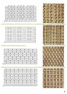 Watch This Video Beauteous Finished Make Crochet Look Like Knitting (the Waistcoat Stitch) Ideas. Amazing Make Crochet Look Like Knitting (the Waistcoat Stitch) Ideas. Crochet Stitches Chart, Crochet Motifs, Crochet Diagram, Filet Crochet, Knitting Stitches, Crochet Lace, Knitting Patterns, Crochet Patterns, Knitting Wool