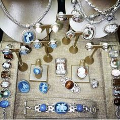 Stephen Dweck Greek inspired cameo collection. #jewelry #aotd