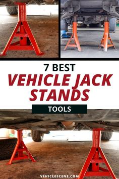 When looking fo the best jack stands, what should you be looking for? What should you avoid? In this guide, we take a deep dive look into this most important of tools, that quite literally your life can depend on! Car Safety Tips, Cool Car Gadgets, Car Essentials, Car Cleaning Hacks, Off Road, Geek Crafts, Car Tools, New Trucks, Car Detailing