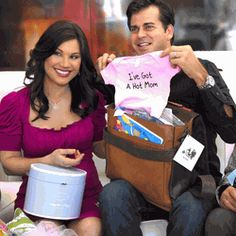 How to Host a Coed Baby Shower - Couples Baby Shower Ideas. 4 sandra and kikis baby shower