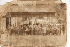 Jackson Parish, La.  Stovall School.  This school was closed in 1918 and the children sent to the School in Walker.