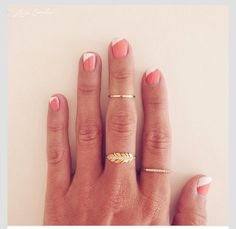 Quirky French Manicure