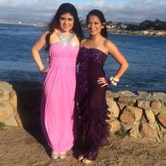 Beautiful purple beaded prom dress Loved this dress! Wore it prom and got many compliments. Super comfortable. It is hemmed to my height but should be easy to put the material back if needed since it is layered. For rent or buy. Perfect condition, only worn once. Dresses Prom