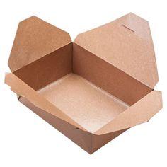 Biodegradable Kraft Paperboard Food Box