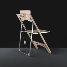 Folditure is a new concept in folding furniture. The thinnest, smallest, most elegant, comfortable, and sturdy folding furniture ever created. And it can hang in a closet. Small Folding Chair, Folding Furniture, Couch Furniture, Space Saving Furniture, Unique Furniture, Furniture Design, Cheap Chairs, Chairs For Sale, Cool Chairs