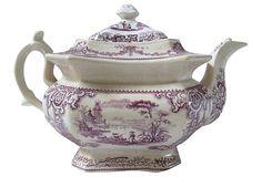 Staffordshire Teapot, C. 1840 on OneKingsLane.com