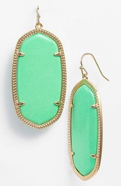 Kendra Scott 'Danielle - Large' Oval Statement Earrings