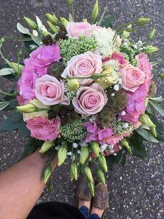 PINK bouquets <tone in tone> Pink Bouquet, Bouquets, Floral Design, Floral Wreath, Wreaths, Bridal, Decor, Floral Crown, Decoration