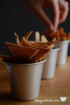 Ricetta Nachos light al forno/Baked corn tortilla chips recipe