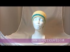 Link for Free Worksheet and Pattern:  http://www.crocheteverafter.com/tutorials/free-pattern-workshops/custom-fit-beanie-double-crochet-workshop/  Learn how to make your own custom fit beanie in double crochet. This tutorial will not only show you how to get the perfect fit, but also how to keep a straight seam in your project and how to add str...