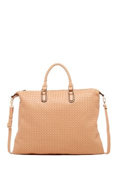 Pink Cosmo Oversized Woven Tote by Pink Cosmo on @HauteLook