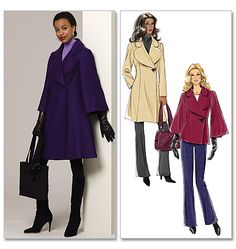 another potential coat pattern... butterick 5401
