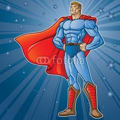 Vecteur : Toon Hero