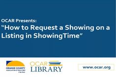 How To Request a Showing on ShowingTime