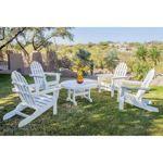 Classics 5-piece Folding Adirondack Conversation Set by Ivy Terrace™ - costco 2nd floor balcony side $1,200
