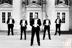 Swooning over these guys in tuxes--- Kristen Taylor Photography