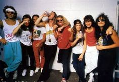 Van Halen and Metallica, 1988 monsters of rock. So cool, rock legends! #Vantallica