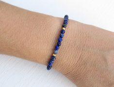 Artisan Jewelry, Handmade Jewelry, Lapis Lazuli Bracelet, Holiday Sales, Beaded Bracelets, Gemstones, Chain, Beads, Collaboration