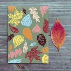 #carte #illustration #couleur #autumn #leaves #color #plantes #café #cards #snail #autumn #plants #leaves #mushroom #coffee Collage, Drawing, Graphic, Diy, Painting, Illustration, October, Plants, Autumn