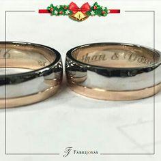 Las Argollas de Matrimonio bicolores, en oro amarillo clásico, blanco o rosa, son una de las tendencias que, sin lugar a duda, reinarán en el 2018. 👰💖💍 #ArgollasDeMatrimonioCali #ArgollasDeMatrimonioColombia #WeddingBandsColombia