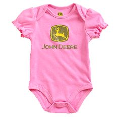 John Deere Newborn Hot Pink Short Sleeved Onesie John Deere Baby, Hot Pink Shorts, Baby Needs, Onesies, Jackson, Goodies, Outfits, Clothes, Fashion
