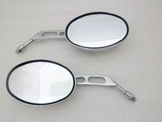 Chrome Oval Side Mirrors For Honda Shadow VTX VT 600 750 1100 1300 Suzuki Boulevard Intruder Volusia Marauder Kawasaki Vulcan VN 750 800 900 1500 1600 1700 Harley Sportster Dyna Softail by Tmsuschina. $21.99
