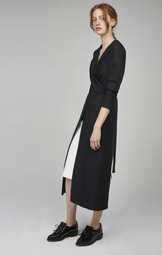 BASIC SPACE DRESS black | C/MEO COLLECTIVE