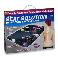 Seat Solution™ Orthopedic Seat Cushion