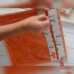 "Needlework project bag with vinyl window and wrist handle - storage for Q snap 11x11"" or regular embroidery frame as well. This zippered cross stitch needlework bag is perfect for the stitching, crafting, quilting, sewing and etc. Perfect for storing a pattern, q snap frame, embroidery floss, scissors or any other sewing and crafting tools and accessories. Keep each project in progress in its own bag to stay organized and protect your materials. #projectbags #crossstitchstorage #forqsnap11"