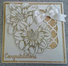 A wedding card from occasions workshop
