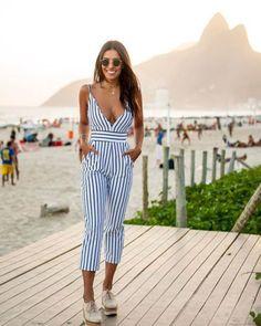 20 Beautiful Jumpsuit Ideas for Women Style - Topkerja.com