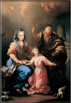 Happy Feast Day of Sts. Joachim and Anne - July 26