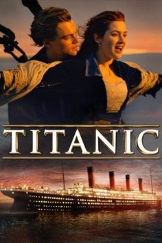 """Experience James Cameron's Titanic like never before. Leonardo DiCaprio and Kate Winslet shine in this unforgettable, epic love story. See why critics declare Titanic """"a magnificent motion picture that remains spellbinding. Titanic Movie Poster, Film Titanic, Movie Posters, Titanic Model, Titanic Sinking, Kate Winslet, Billy Zane, Hindi Movies, Celebrity"""