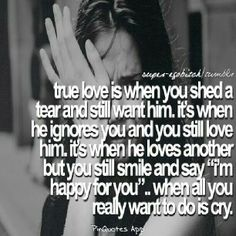 Hate this feeling but I have to stay strong at least in front of him