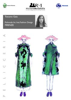 Toscano Gaia Polimoda Int. Inst.Fashion Design FIRENZE