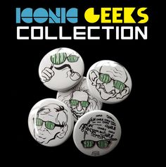 Iconic Geek Collection Badges
