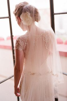 Love the back and veil