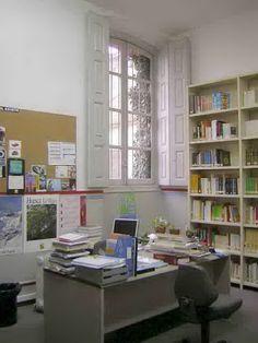 Antigua Biblioteca (antes de 2009). Despacho de Dirección de Biblioteca