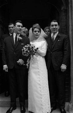 Reggie and Frances' wedding.