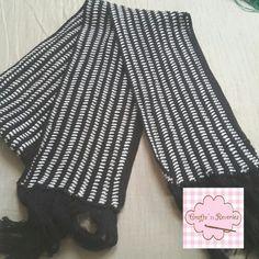 Crochet Men's Scarf IG @craftsnreveries Fb craftsnreveries