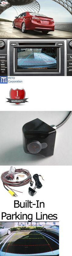 Toyota Camry SE and XLE Integrated Factory Backup Camera Kit (2012-up) with Entune Radio, This is the latest innovation that comes from the engineers at Mito Company!  This kit is designed for your 2012 and up Toyota Camry SE or XLE with the 6.1 factory screen. The wiring harness plugs in..., #Automotive Parts and Accessories, #Vehicle Backup Cameras