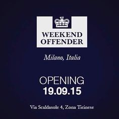 New opening! Via Scaldasole 4, Milano