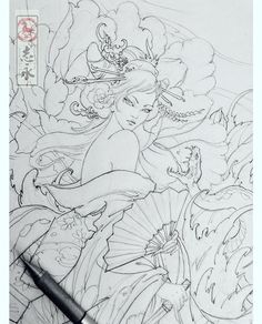 Female Samurai Tattoo, Samurai Art, Geisha Drawing, Geisha Art, Body Art Tattoos, Tattoo Drawings, Tatoos, Geisha Tattoo Design, Japanese Tattoo Art