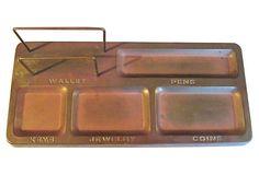 Desktop Tidy Tray on OneKingsLane.com from Maxwell's 9.13.34.  Sold!