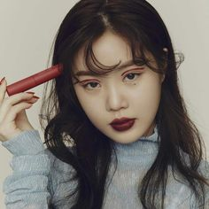 Two ways to wear a red lip 👄 Minnie loves Heart Melter Lip Gloss Stick because it's soft and so easy to apply, while… Kpop Girl Groups, Kpop Girls, Nayeon, Mack Up, Soo Jin, Commercial Photography, Red Lips, Lip Gloss, Beautiful
